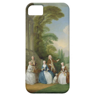 Portrait of a Family, 1740 (oil on canvas) iPhone SE/5/5s Case