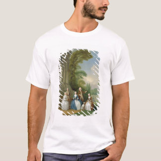 Portrait of a Family, 1740 (oil on canvas) T-Shirt
