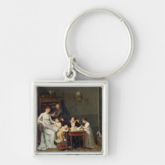 Portrait of a Family, 1800-01 Keychain