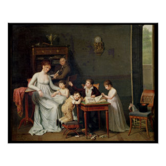 Portrait of a Family, 1800-01 Poster