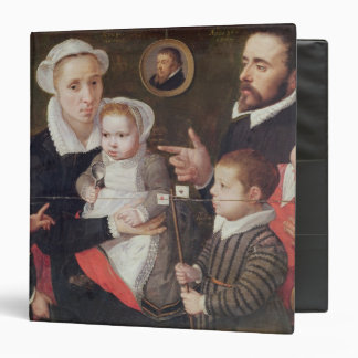 Portrait of a family binder