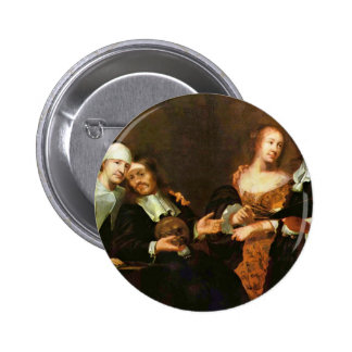 Portrait Of A Family By Joachim Luhn (Best Quality Buttons