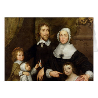 Portrait of a Family, Probably that of Richard Str Card