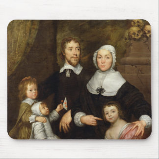 Portrait of a Family, Probably that of Richard Str Mouse Pad