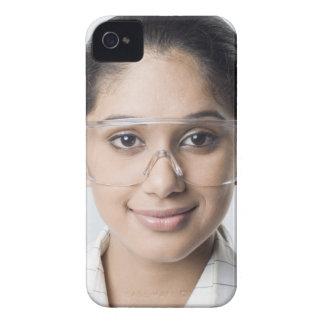 Portrait of a female lab technician wearing a iPhone 4 Case-Mate case