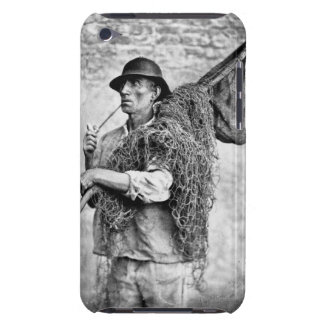 Portrait of a Fisherman Carrying his Nets (b/w pho Barely There iPod Cover