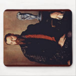 Portrait Of A Gentleman By Bronzino Angelo Mouse Pad