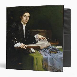 Portrait of a Gentleman in his Study, 1528-30 (oil Binder