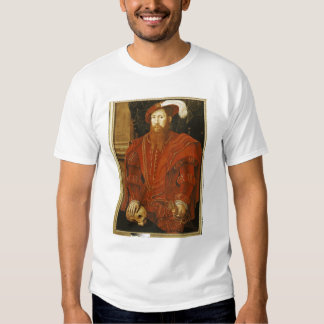 Portrait of a Gentleman of the English Court Shirt