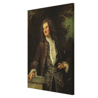 Portrait of a Gentleman, or Portrait of Jean Canvas Print