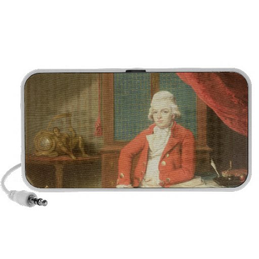Portrait of a Gentleman Portable Speaker