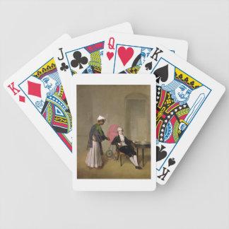 Portrait of a Gentleman, possibly William Hickey, Card Decks