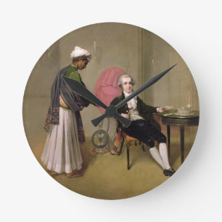 Portrait of a Gentleman, possibly William Hickey, Round Clock