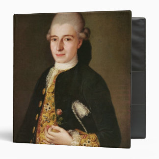 Portrait of a Gentleman with a Rose Buttonhole Binder