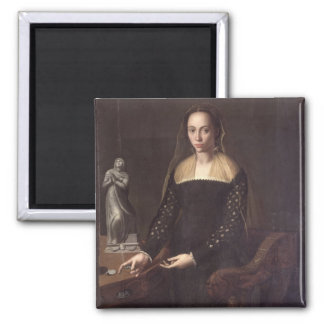 Portrait of a Gentlewoman, 1559 (oil on panel) Magnet