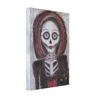 Portrait of a Ghost - Canvas Print