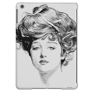Portrait Of A  Gibson Girl, 1900 iPad Air Covers