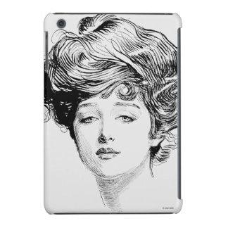 Portrait Of A  Gibson Girl, 1900 iPad Mini Cover
