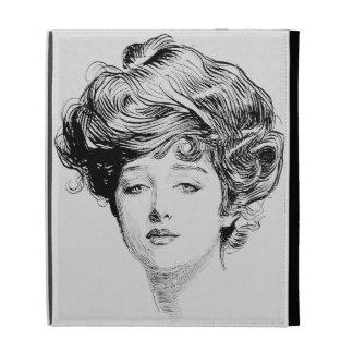 Portrait Of A  Gibson Girl, 1900 iPad Folio Covers