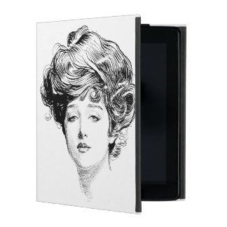 Portrait Of A  Gibson Girl, 1900 iPad Cases
