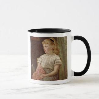 Portrait of a Girl, 1896 (oil on canvas) Mug