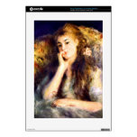 Portrait of a girl in thoughts by Pierre Renoir PS3 Console Decal
