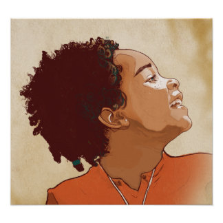 Portrait of a Girl Print