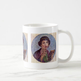 Portrait Of A Girl Tondo Coffee Mug