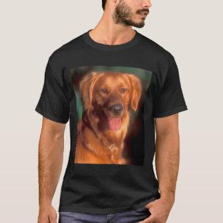 Portrait of a golden retriever T-Shirt