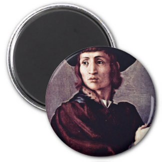 Portrait Of A Goldsmith By Pontormo Jacopo (Best Q Magnets