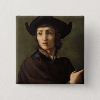 Portrait of a Goldsmith Pinback Button