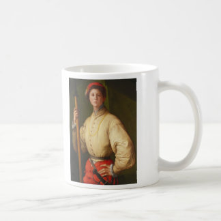 Portrait of a Halberdier by Pontormo Coffee Mug
