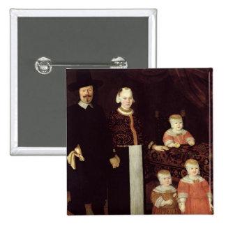 Portrait of a Hamburg Family, c.1640 Button