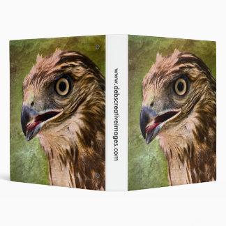 Portrait of a Hawk Binder