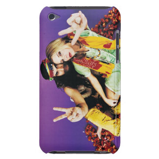 Portrait of a Hippy Couple Sitting Cross-legged Case-Mate iPod Touch Case