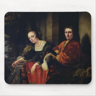 Portrait of a Husband and Wife, 1654 Mouse Pad
