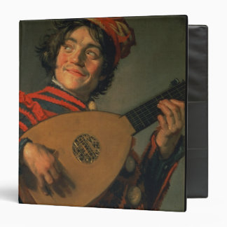 Portrait of a Jester with a Lute oil on canvas Binders