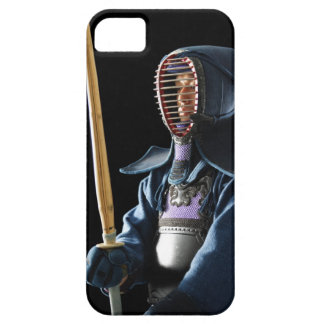 Portrait of a Kendo Fencer 2 iPhone 5 Covers