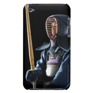 Portrait of a Kendo Fencer 2 iPod Touch Covers