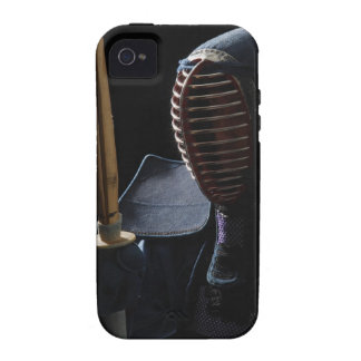 Portrait of a Kendo Fencer 6 Vibe iPhone 4 Cover