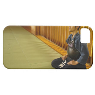 Portrait of a Kendo Fencer iPhone 5 Cover