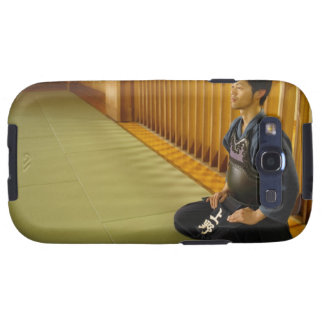 Portrait of a Kendo Fencer Galaxy SIII Cases