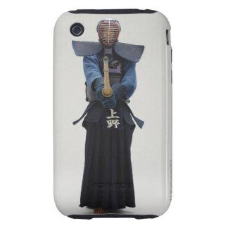 Portrait of a Kendo Fencer iPhone 3 Tough Cover