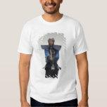 Portrait of a Kendo Fencer Tshirts