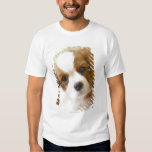 Portrait of a King Charles Spaniel puppy. T-Shirt
