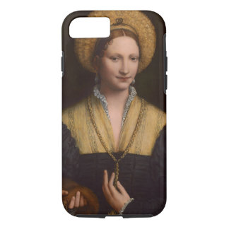 Portrait of a lady, 1520-1525 (oil on panel) iPhone 8/7 case