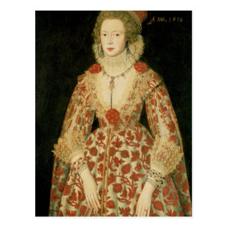 Portrait of a Lady, 1619 Postcard