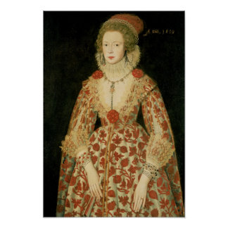 Portrait of a Lady, 1619 Poster