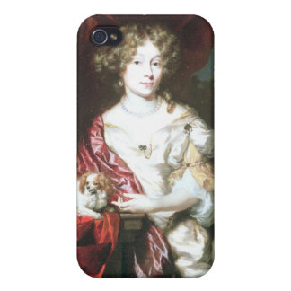 Portrait of a Lady, 1677 iPhone 4/4S Cases