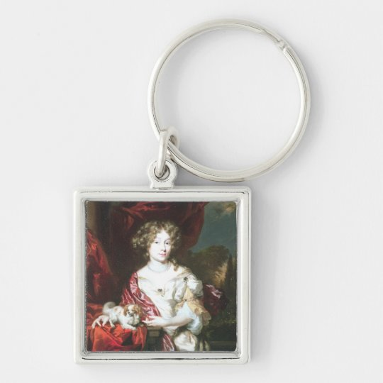 Portrait of a Lady, 1677 Keychain